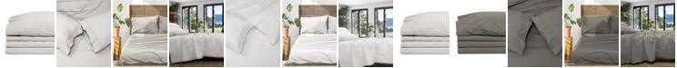 Jennifer Adams Home Jennifer Adams Relaxed Cotton Percale King Sheet Set