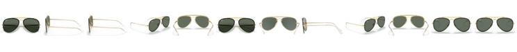 Ray-Ban Sunglasses, RB3584N BLAZE AVIATOR