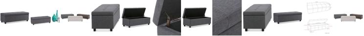 Simpli Home Chamerlain Bench