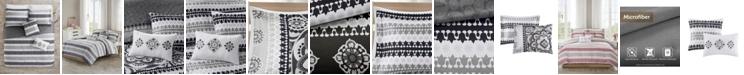 JLA Home 510 Design Neda Full/Queen 5 Piece Reversible Print Comforter Set