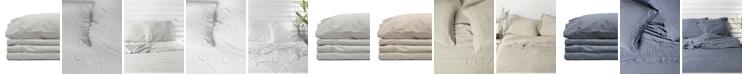 Jennifer Adams Home Jennifer Adams Relaxed Cotton Sateen California King Sheet Set