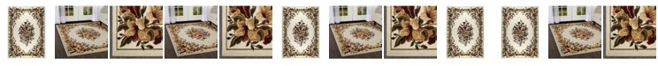 Global Rug Designs Global Rug Design Vision VIS05 Ivory Area Rug Collection
