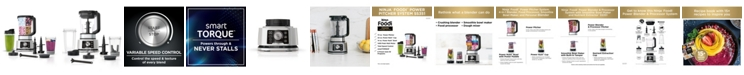 Ninja Foodi® SS351 Power Blender & Processor System with Smoothie Bowl Maker and Nutrient Extractor* + 4in1 Blender 1400WP