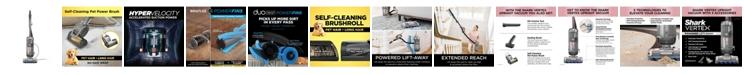Shark AZ2002 Vertex DuoClean® PowerFins Upright Vacuum with Powered Lift-away® and Self-Cleaning Brushroll
