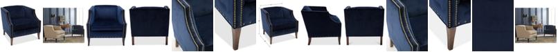 Furniture Emmaleigh Fabric Club Chair