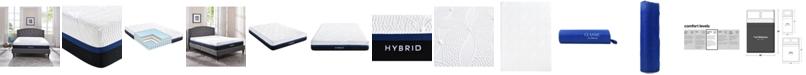 "Sleep Trends Vanetia 11.5"" Medium Firm Hybrid Mattress- Full"