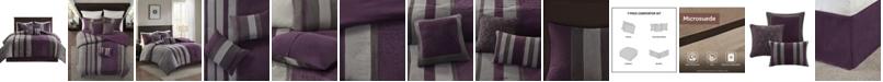 Madison Park Kennedy 7 Piece King Comforter Set