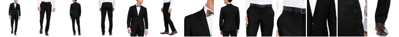 Kenneth Cole Unlisted Men's Solid Stretch Slim-Fit Suit