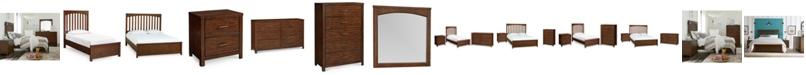 Furniture  Ashford Kids Cinnamon Bedroom Collection