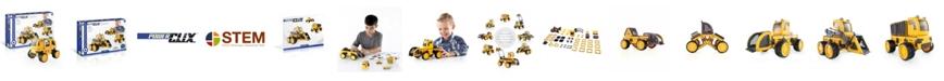 Guidecraft, Inc Guidecraft Power Clix Construction Vehicle Set