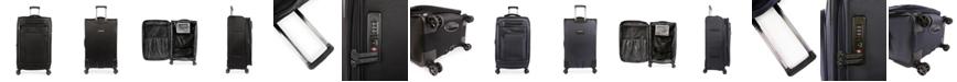 "Brookstone Harbor 29"" Softside Spinner Luggage"
