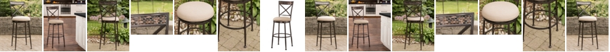 Hillsdale Indoor / Outdoor Pullman Swivel Bar Stool
