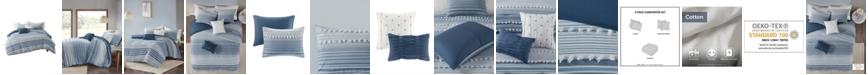 Urban Habitat Calum Full/Queen Cotton Jacquard Comforter, Set of 5