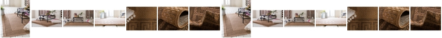 Bridgeport Home Pashio Pas6 Light Brown Area Rug Collection