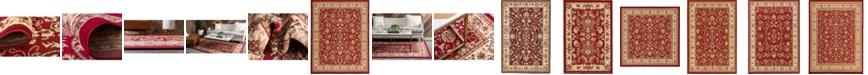Bridgeport Home Arnav Arn1 Burgundy Area Rug Collection
