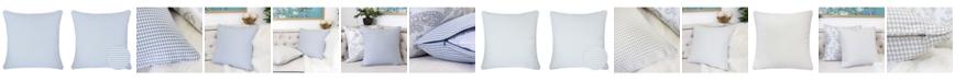 Homey Cozy Sophia Houndstooth Square Decorative Throw Pillow