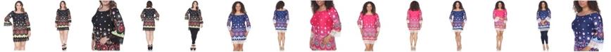 White Mark Women's Plus Size Rakel Dress