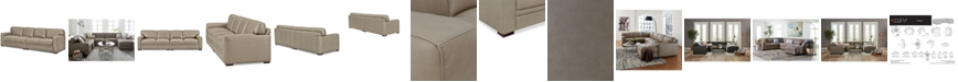 Furniture Avenell 2-Pc. Leather Sectional, Created for Macy's