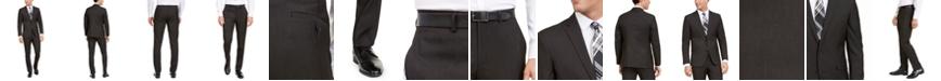 Kenneth Cole Unlisted Men's Slim-Fit Stretch Black Pindot Suit