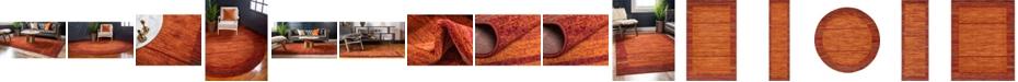 Bridgeport Home Jasia Jas11 Terracotta Area Rug Collection