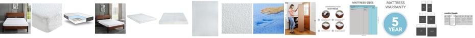 """Sleep Trends Ladan  6"""" Cool Gel Memory Foam Firm Mattress- Queen, Mattress in a Box"""