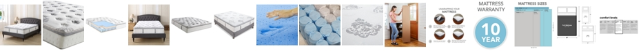 """Sleep Trends Doran 12"""" Wrapped Coil Hybrid Pillowtop Mattress- Full, Mattress in a Box"""