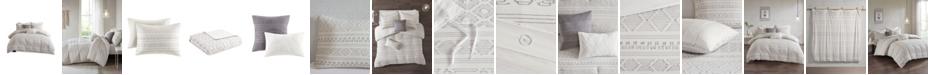Urban Habitat Lizbeth King/California King 5 Piece Cotton Clip Jacquard Duvet Cover Set