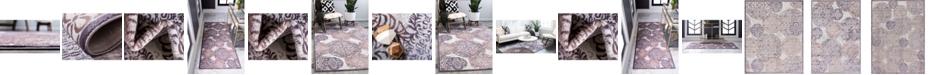 Bridgeport Home Aitana Ait3 Violet Area Rug Collection