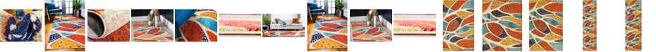 Bridgeport Home Ikbal Ikb5 Rust Red Area Rug Collection