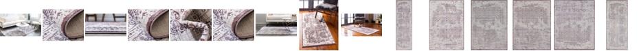 Bridgeport Home Aitana Ait2 Violet Area Rug Collection