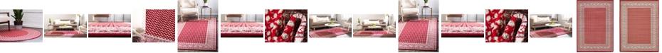 Bridgeport Home Axbridge Axb1 Red Area Rug Collection