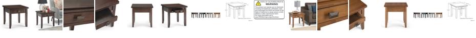 Simpli Home CLOSEOUT! Garner End Table
