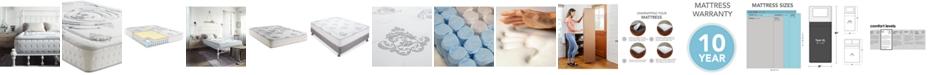 """Sleep Trends Rubi 10.5"""" Wrapped Coil Hybrid Firm Pillow Top Mattress- Twin XL"""