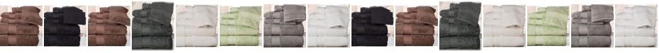 Addy Home Fashions Double Stitched Hem Plush Towel Set - 6 Piece