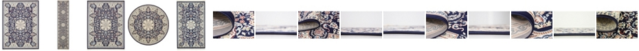 Bridgeport Home Zara Zar5 Navy Blue Area Rug Collection