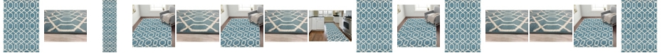 Main Street Rugs Home Alba Alb304 Blue Area Rug Collection