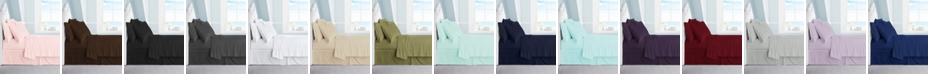 Swift Home Ultra Soft 1800 Collection Brushed Microfiber Full Sheet Set With 2 Bonus Pillowcases