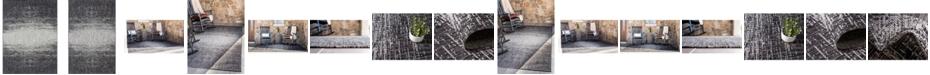 Bridgeport Home Pashio Pas7 Charcoal Gray Area Rug Collection