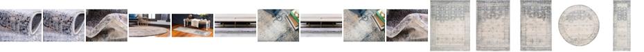 Bridgeport Home Agostina Ago4 Gray Area Rug Collection