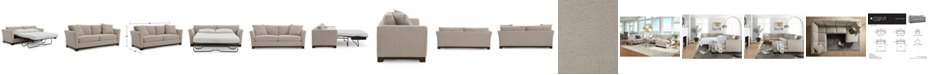 "Furniture Elliot II 90"" Fabric Queen Sleeper, Created for Macy's"