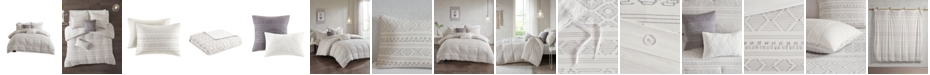 Urban Habitat Lizbeth Full/Queen 5 Piece Cotton Clip Jacquard Comforter Set