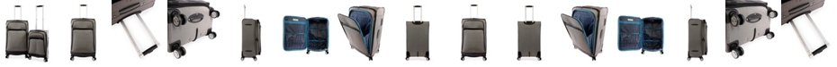 Perry Ellis Marquis 2-Piece Luggage Set