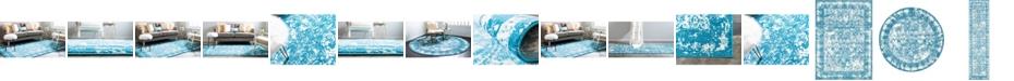 Bridgeport Home Mishti Mis3 Blue Area Rug Collection