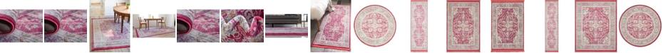 Bridgeport Home Kenna Ken1 Pink Area Rug Collection
