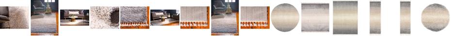 Bridgeport Home Lochcort Shag Loc5 Gray Area Rug Collection