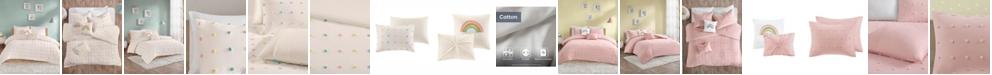 JLA Home Callie Full/Queen 5 Piece Cotton Jacquard Pom Pom Comforter Set