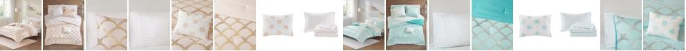 JLA Home Intelligent Design Lorna Full 8 Piece Comforter and Sheet Set