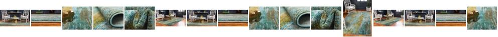 Bridgeport Home Adah Ada2 Turquoise Area Rug Collection