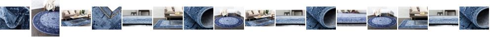 Bridgeport Home Aldrose Ald4 Blue Area Rug Collection