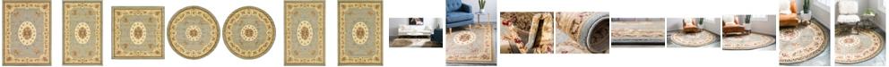 Bridgeport Home Belvoir Blv4 Light Blue Area Rug Collection